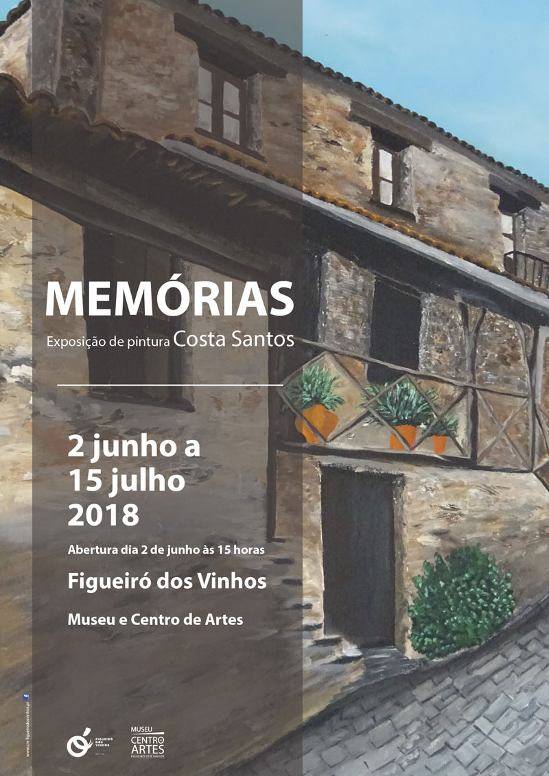 """Memórias"" do artista Costa Santos"